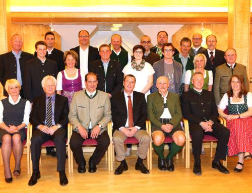 Konstituierende Sitzung des Gemeinderates am 16. April 2015