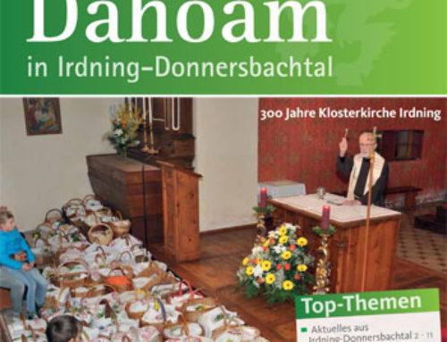 """Die neue Ausgabe der Zeitung """"Dahoam"""" steht zum Download bereit"""