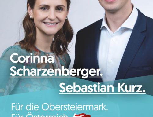 Corinna Scharzenberger – unsere Kandidatin für den Nationalrat