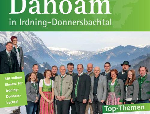 """Sommerausgabe """"Dahoam in Irdning-Donnersbachtal"""" steht online"""