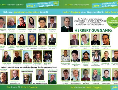 Unterstützungskomitee für Bürgermeister Herbert Gugganig
