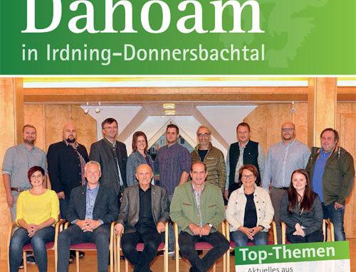 """Herbstausgabe unserer Zeitung """"Dahoam"""" online"""